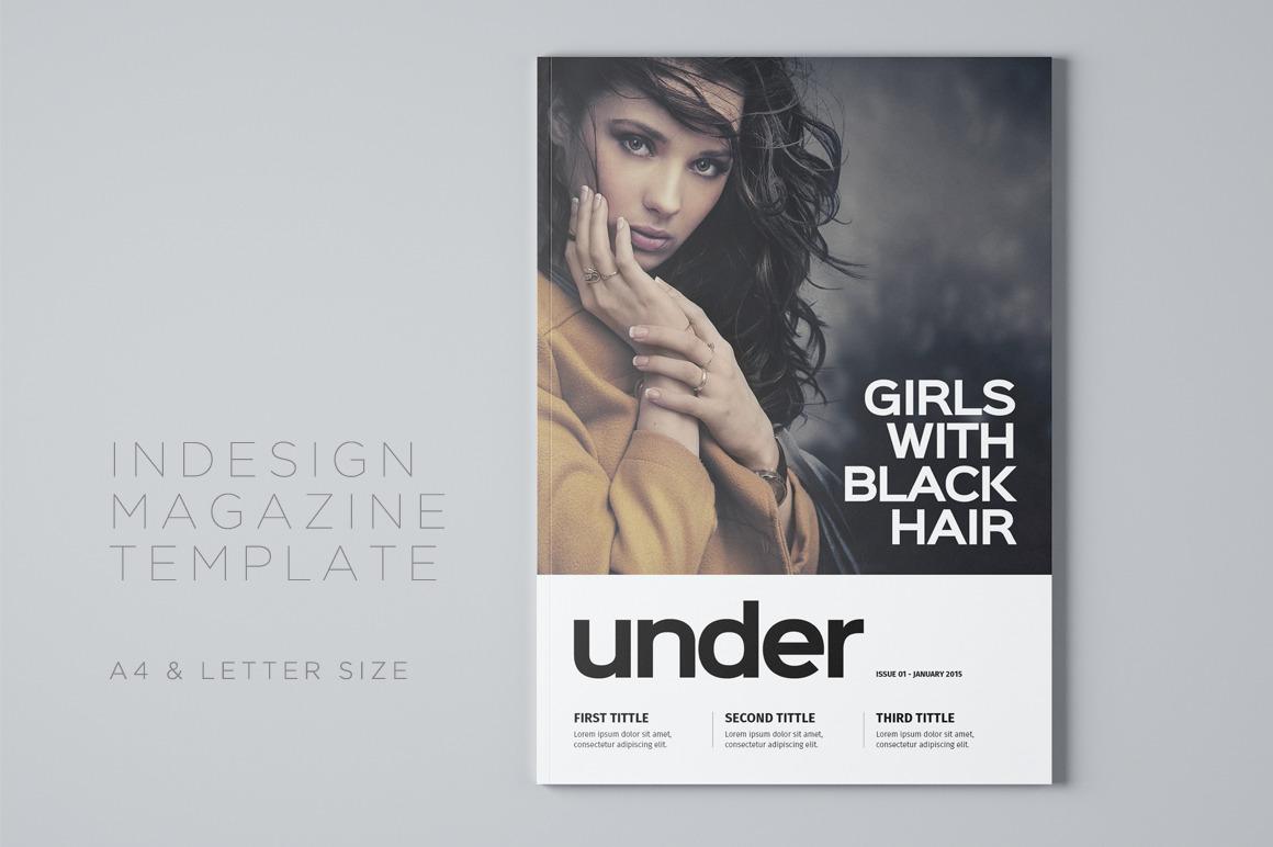 Under Magazine Template by Meenom