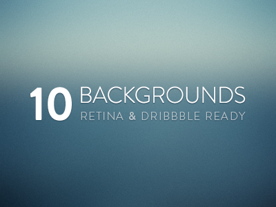 10 Free Blurred Backgrounds by Bastien Wilmotte