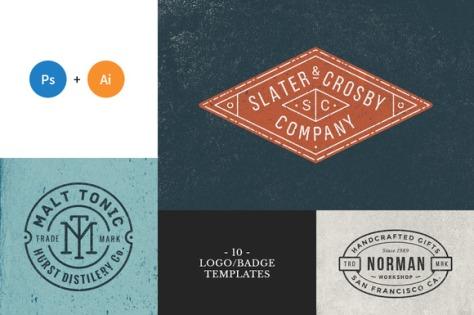 10 Logo_Badge Templates