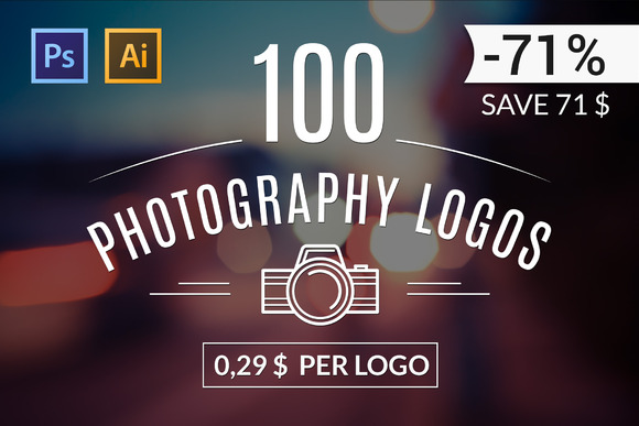 100 Photography Logos