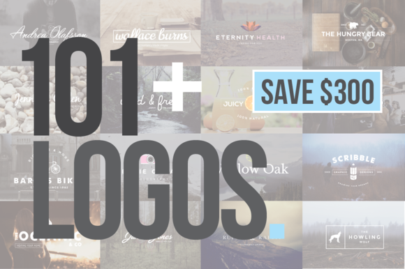 107 Logo Templates & Designs Bundle