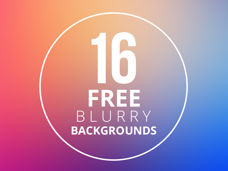 16 Free Blurry Backgroundsby Brandi Lea