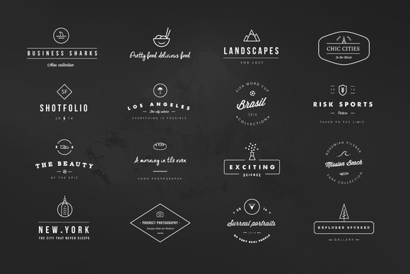 Design a Perfect Hipster Logo with These 25 Bundles | Inspirationfeed
