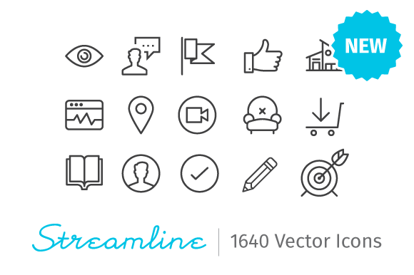 1640 ios 8 icons -Streamline Icons