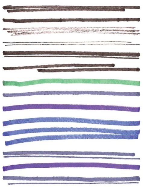 230 Marker Illustrator Brushes
