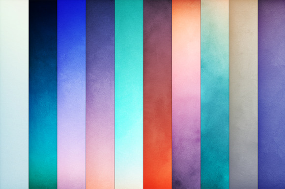 30 Textured Watercolor Backgrounds