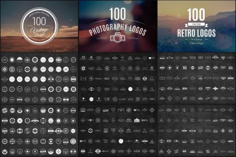 300 Logos & Badges