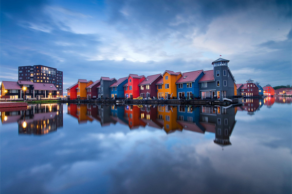 Blue Hour by Daniel Bosma