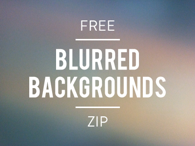 Free Blurred Backgrounds, ZIP by Jorge Castillo