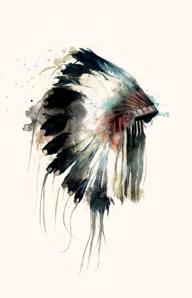 Headdress by Amy Hamilton
