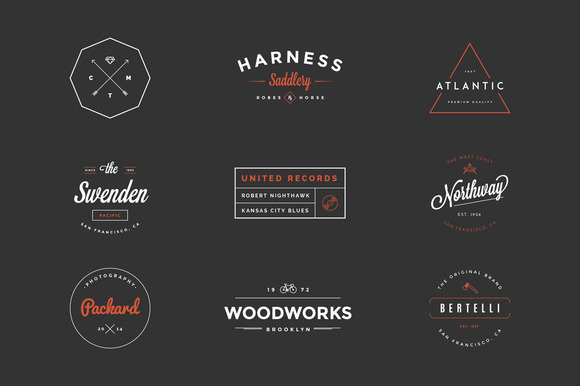 Design A Perfect Hipster Logo With These 25 Bundles