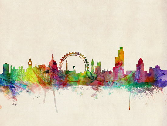 London Skyline by ArtPause