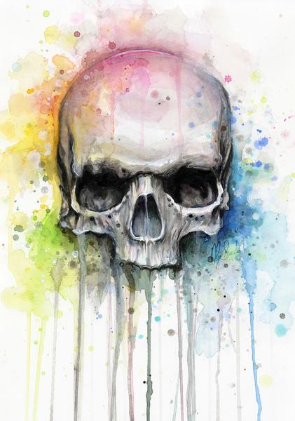 Skull by Olechka