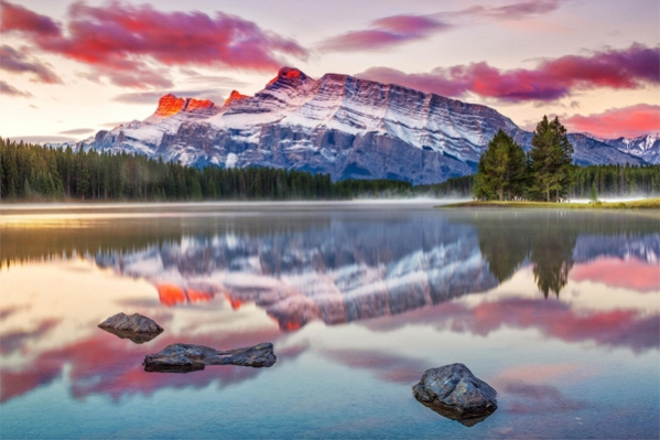 Two Jack Lake by Pietro Canali