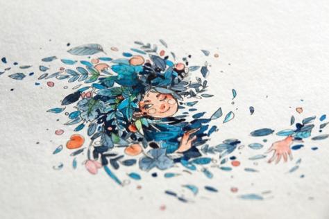 Watercolor Art by Barbara Bernat