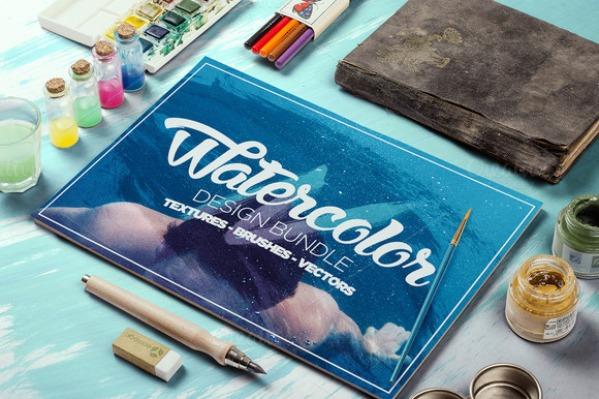 Watercolor Design Bundle