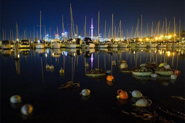 Westhaven Marina by Dmitry Serbin