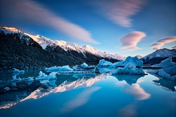 Winter Symmetry by Yan Zhang