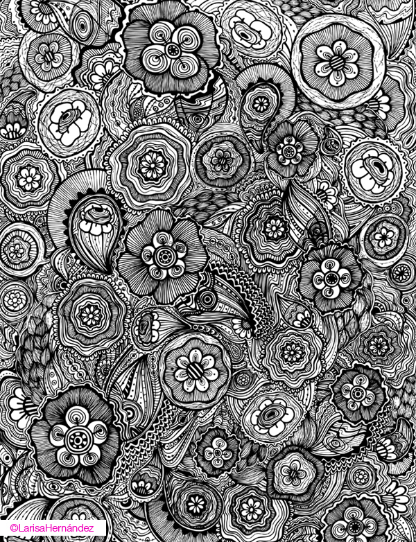 Zentangle Design Trend 40 Inspiring Examples Inspirationfeed Beauteous Zentangle Pattern Ideas
