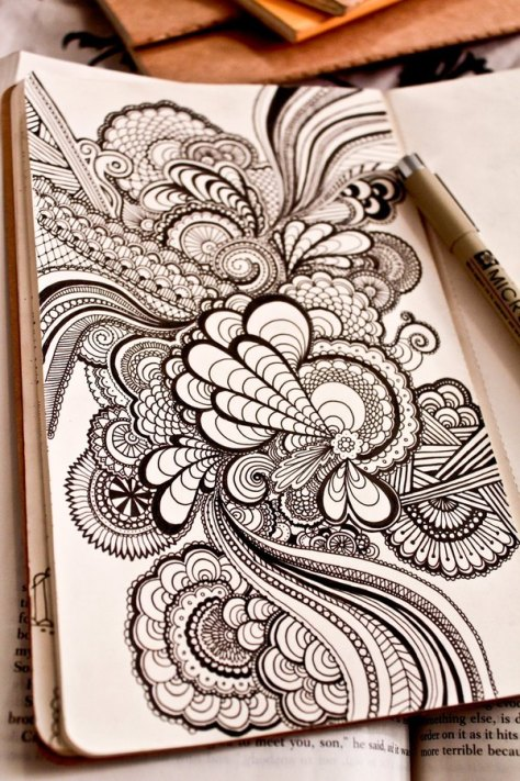 Zentangle by Danielle Aldrich