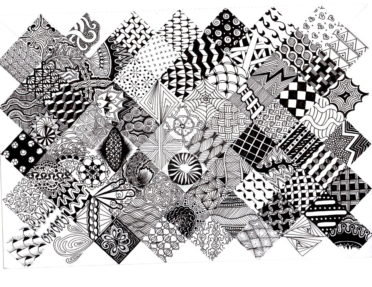 Zentangle Design Trend 35 Inspiring Examples Inspirationfeed Part