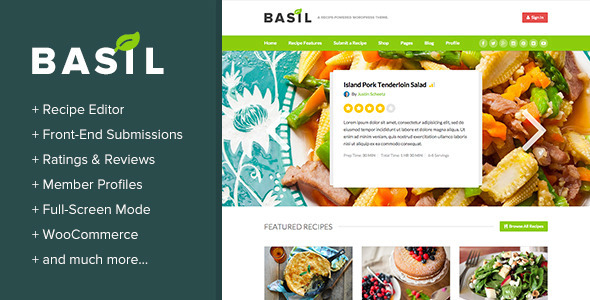 Basil Recipes