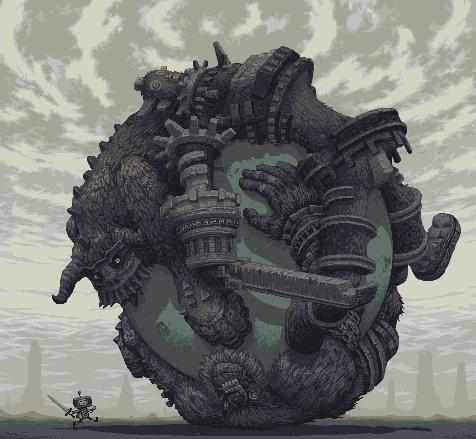 Colossal Katamari Pixel by Snake