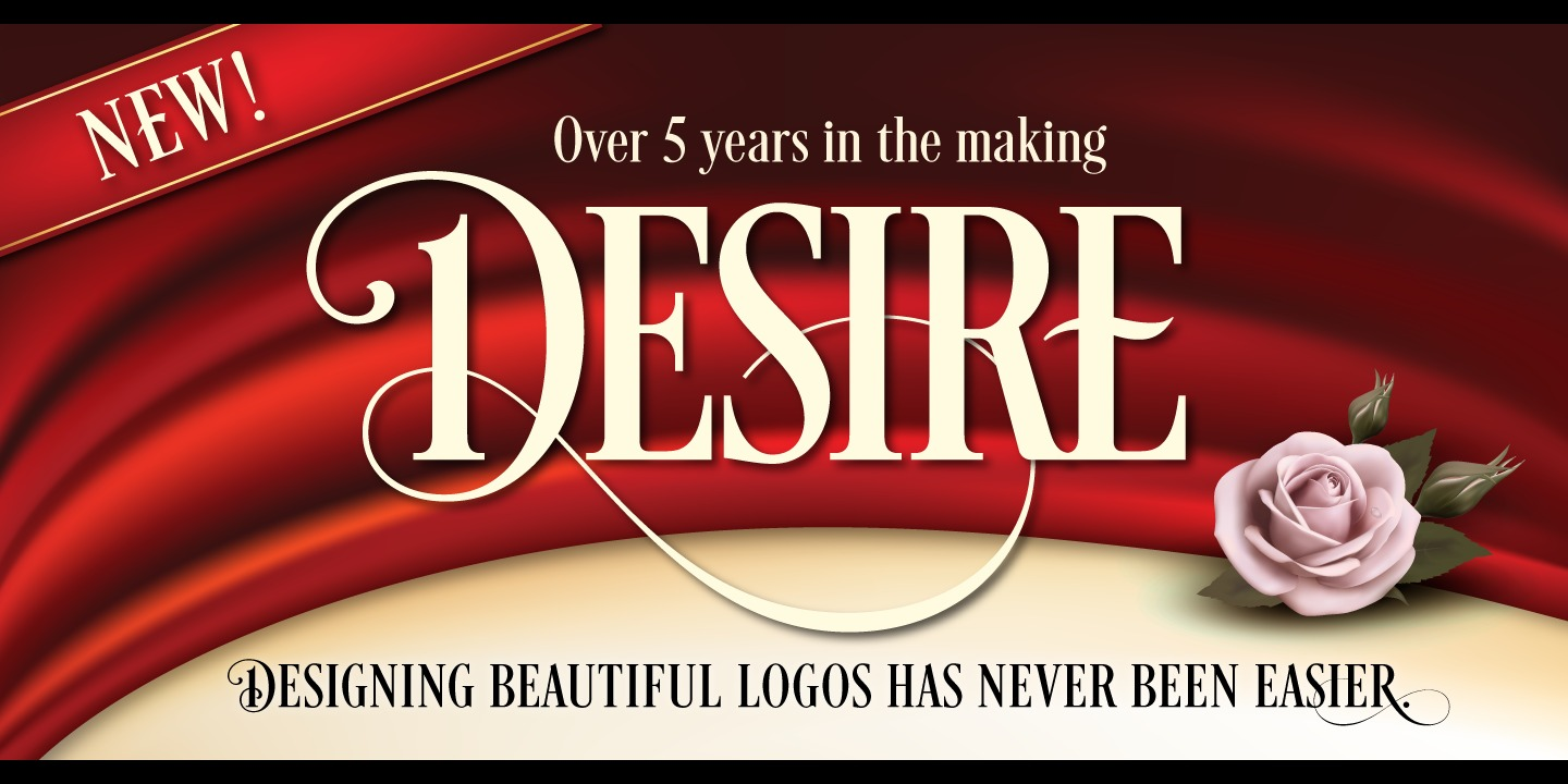 Desire by Borges Lettering