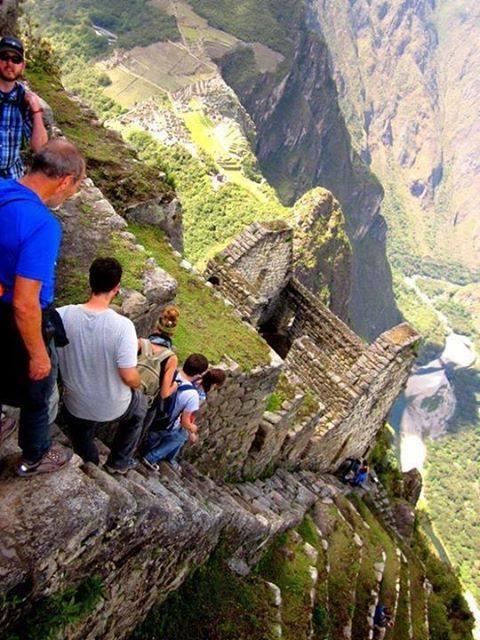 Huayna Picchu, Machu Picchu, Peru.