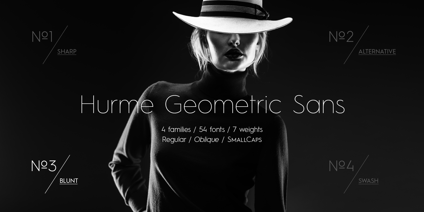 Hurme Geometric Sans by Hurme Design