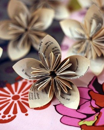 Kusudama Paper Flowers
