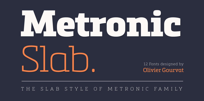 Metronic Slab Pro by Mostardesign