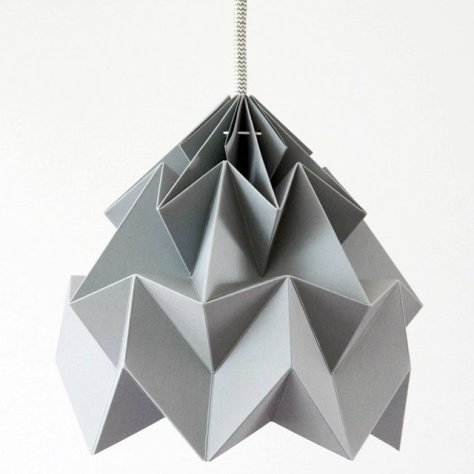 Moth Origami Lampshade