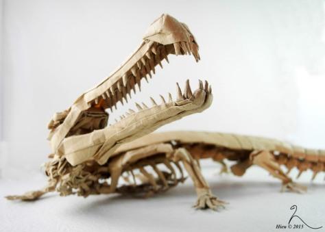 Origami Dinosaur by Adam Tran