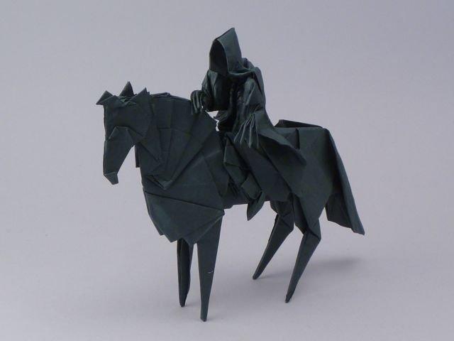 Origami Nazgul by Jason Ku