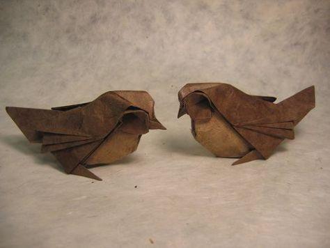 Origami Sparrows