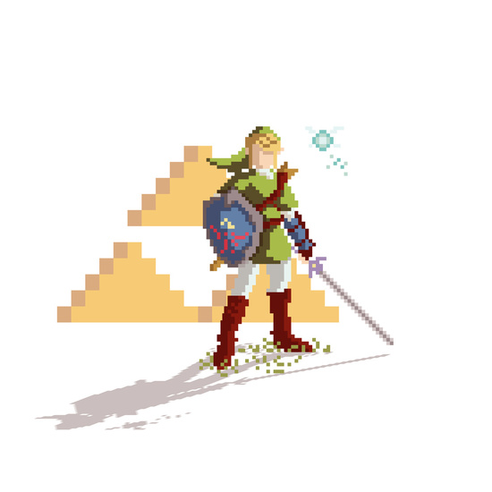 Pixel Link by Phil Giarrusso