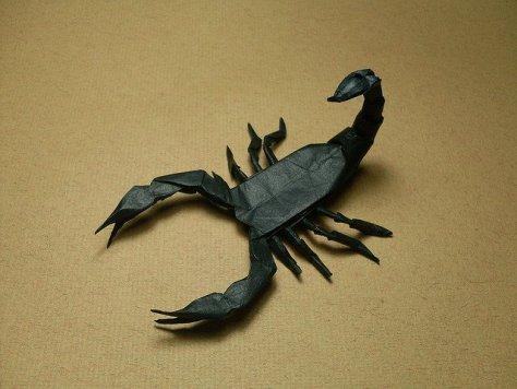 Robert J. Lang Scorpion Origami