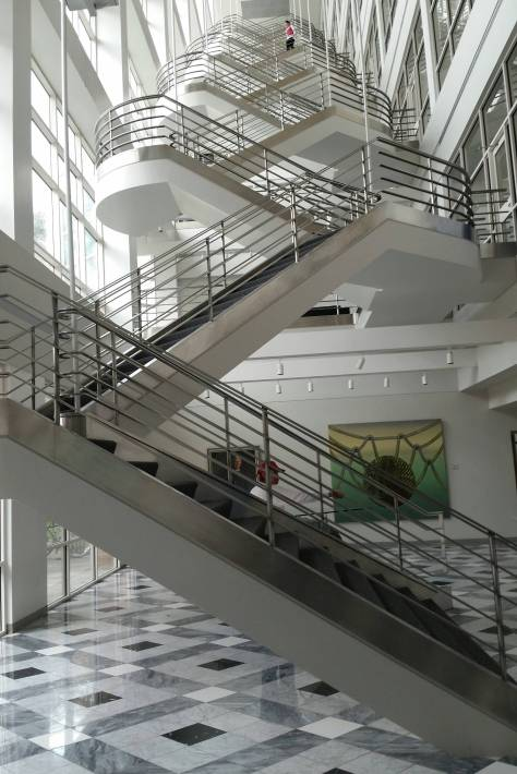 Staircase at The University of Utah