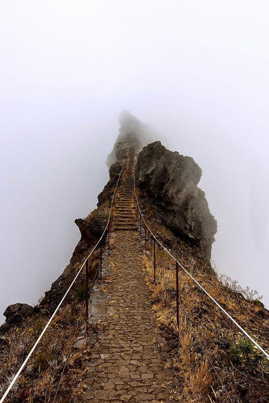 Stairs Into The Clouds