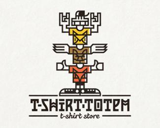 T-shirt Totem by Dima Je