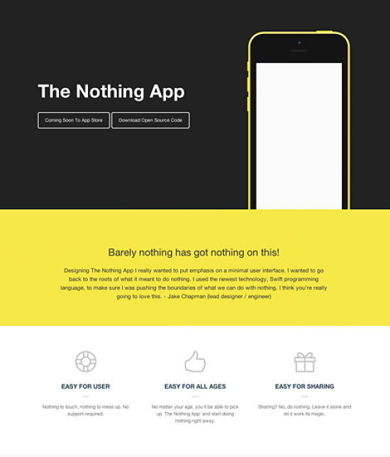 The Nothing App