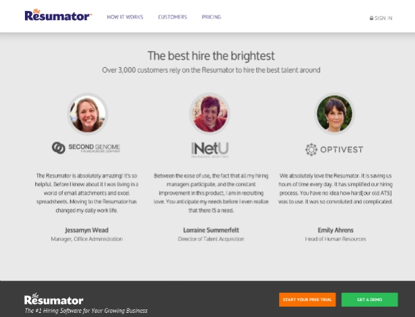 The Resumator