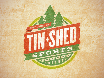 Tin Shed (B) by Monte Mitchell