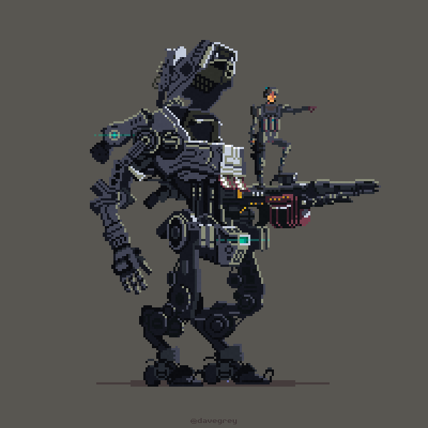 Titanfall by Dave Grey