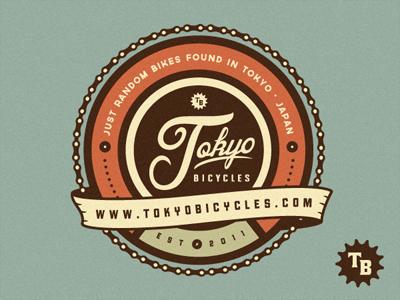 Tokyo Bicycles Logo by Emir Ayouni