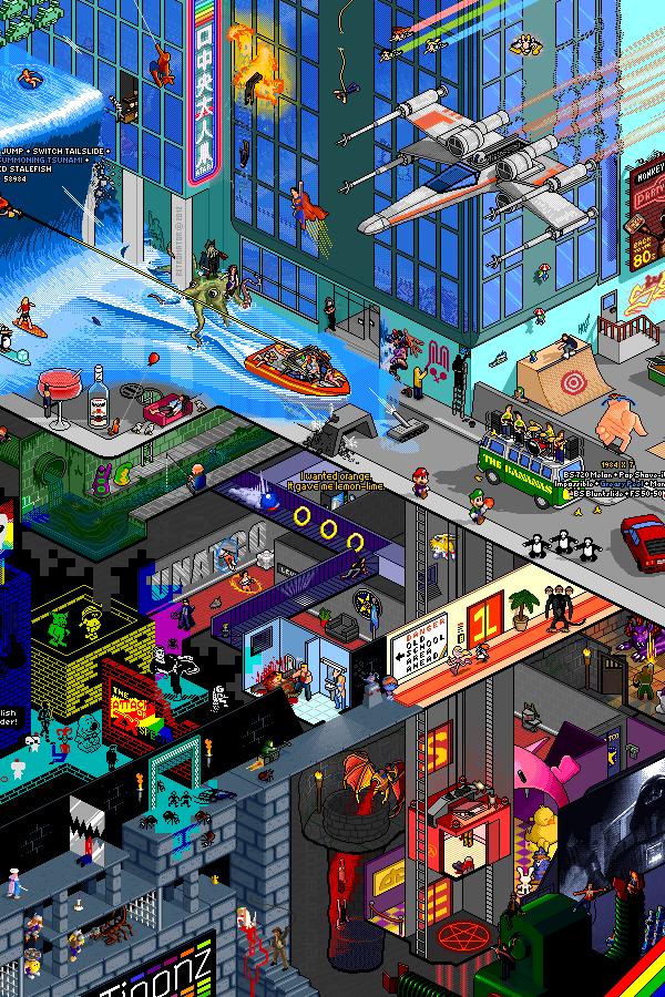 Tribute Pixel Art Poster by Matej Jan