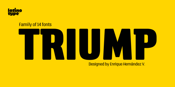Triump by Latinotype