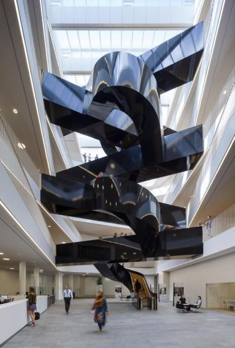 UN City interior stairs in Denmark