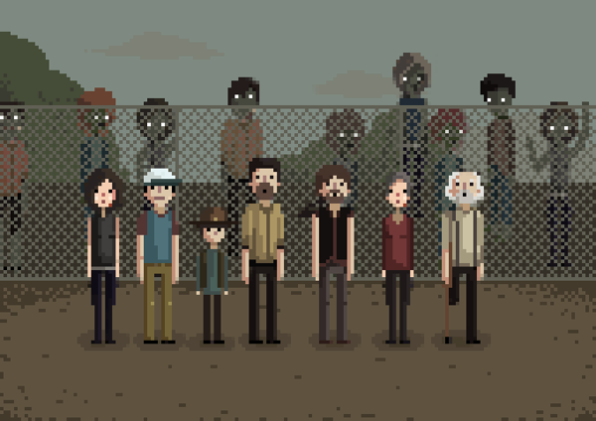 Walking Dead by Karina Dehtyar